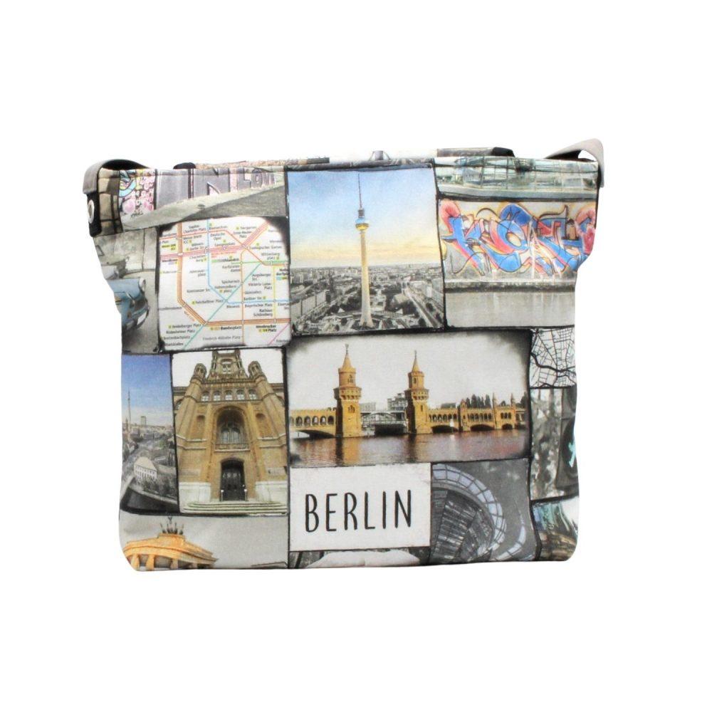 Rückseite der Tasche Berlin