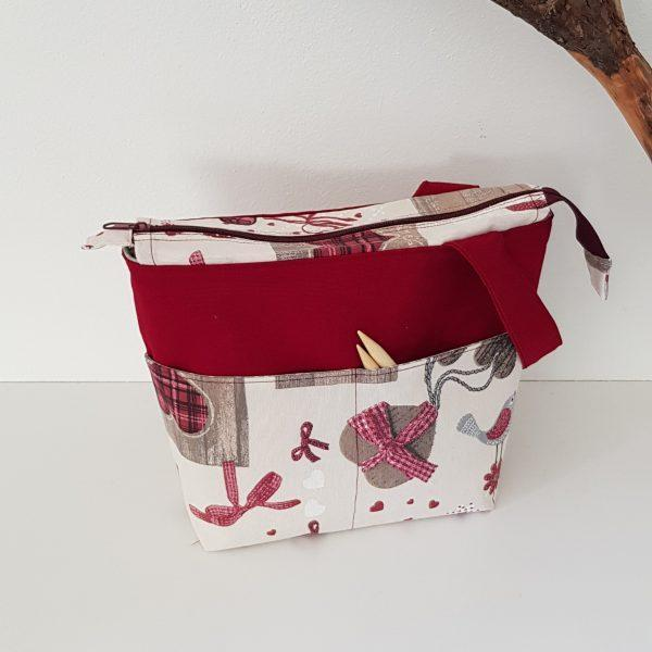 Projekt Tasche Rot
