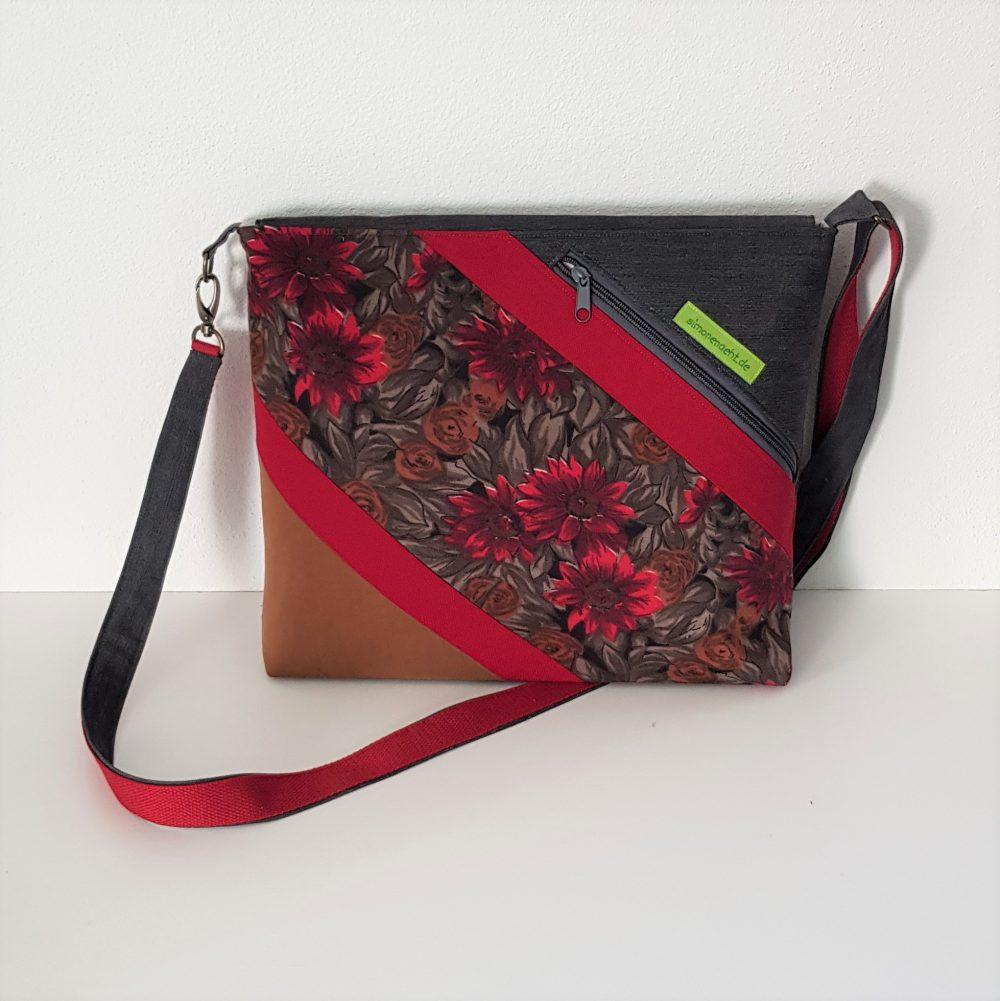 Schulter Tasche Bag Claudia Rueckseite