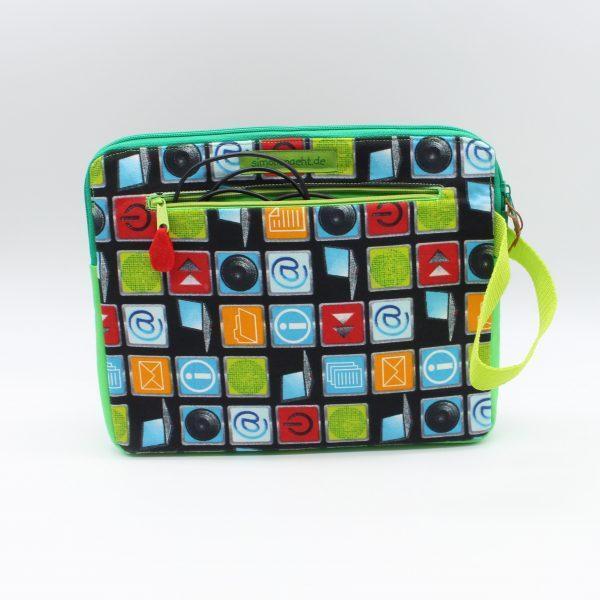 grüne Tablet-Tasche 10 Zoll