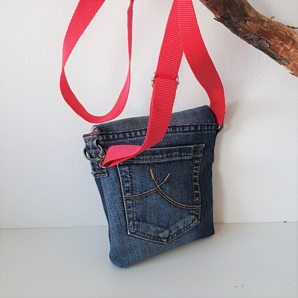kleine Jeans Tasche karin