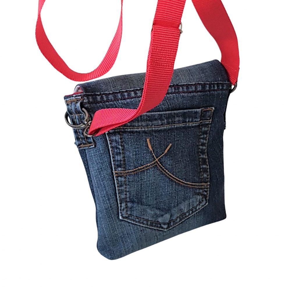 Rückansicht der Jeanstasche