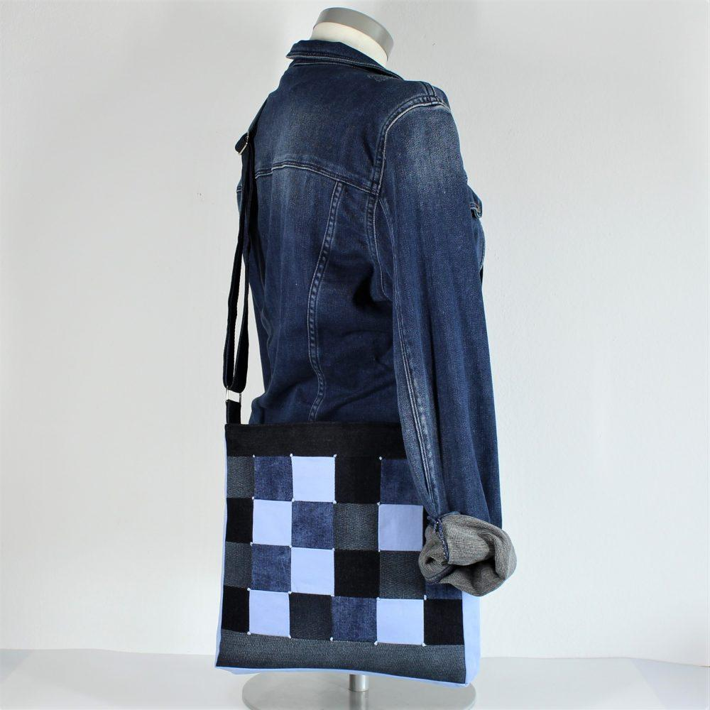 Tasche blau Anwendung