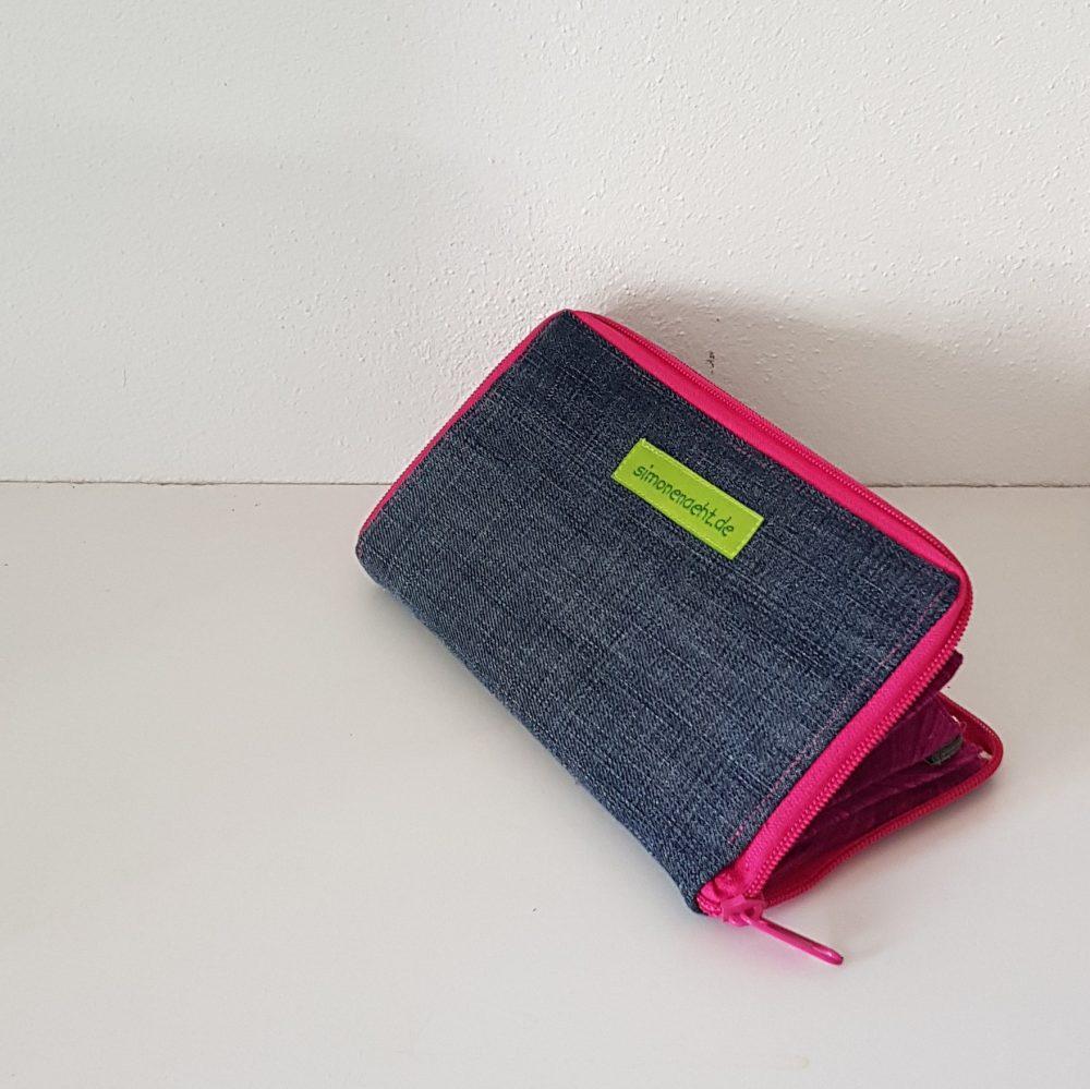 Geldbörse in pink Rück