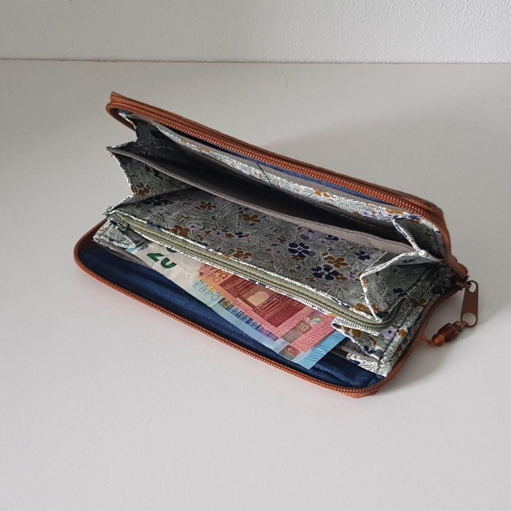 Geldbörse in Naturfarbe
