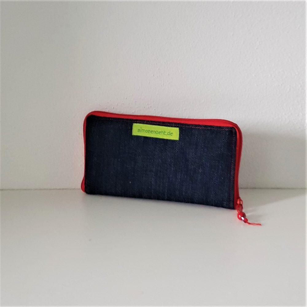 Geldbörse mit rot rück