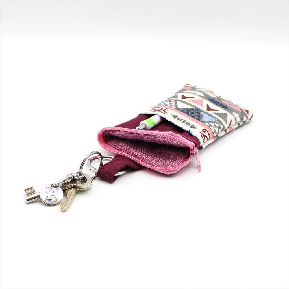 Handy Tasche WeinRot