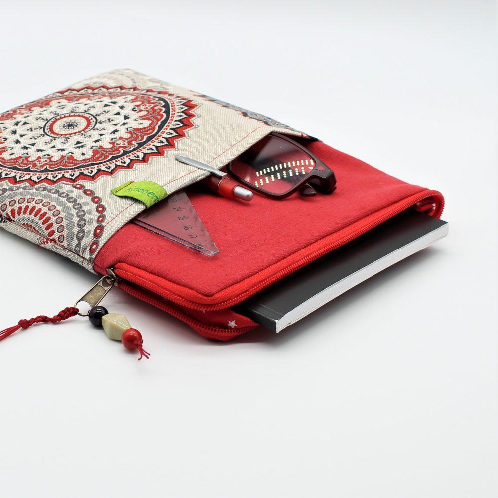 Laptop Tasche Zoll Rot