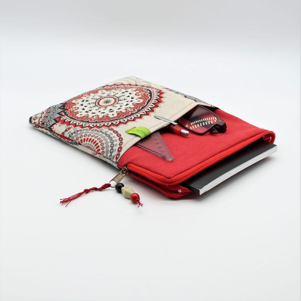 Laptop Tasche Zoll Rot  scaled