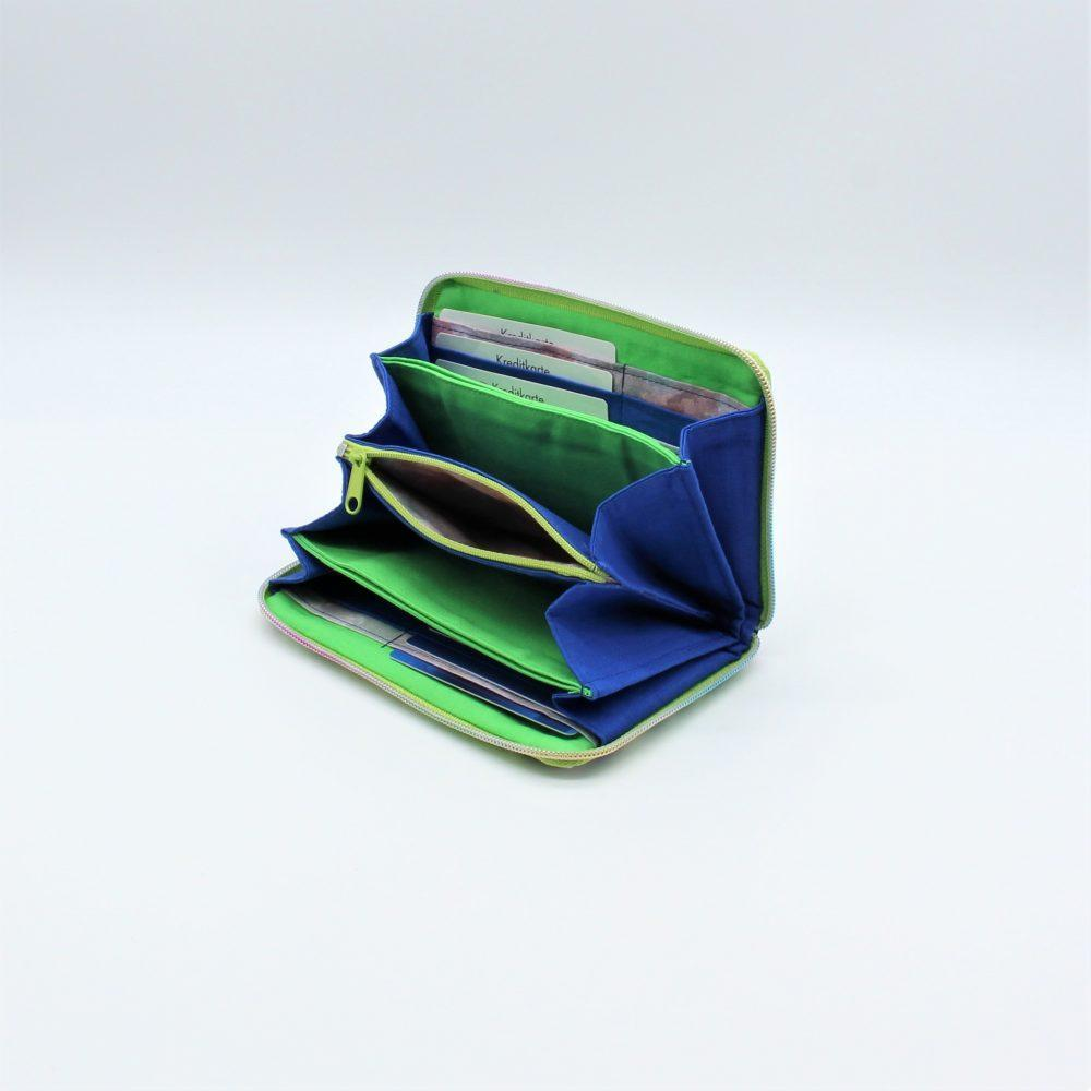 """Geldbeutel """"Sona"""" ein handgefertigtes Portemonnaie aus Upcycling"""