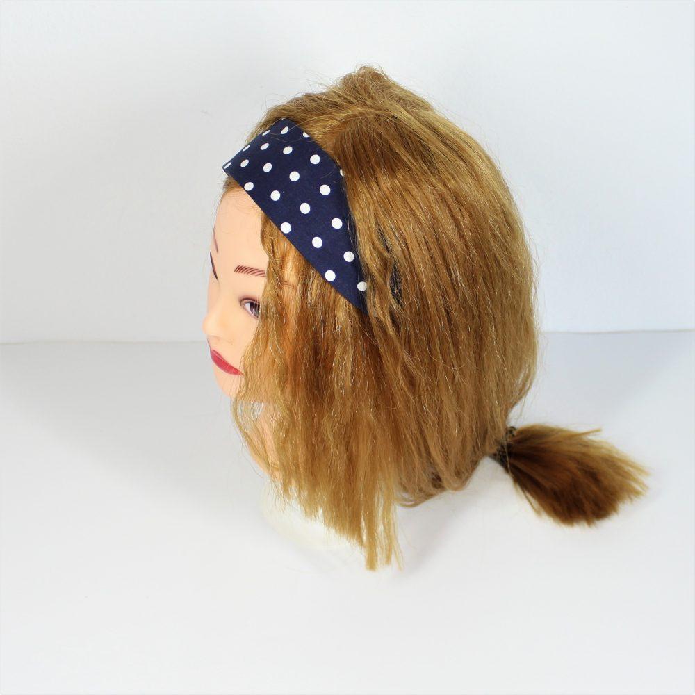 Haarband in blau