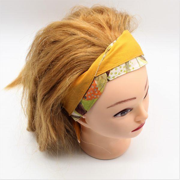 gelbes Haarband zum binden
