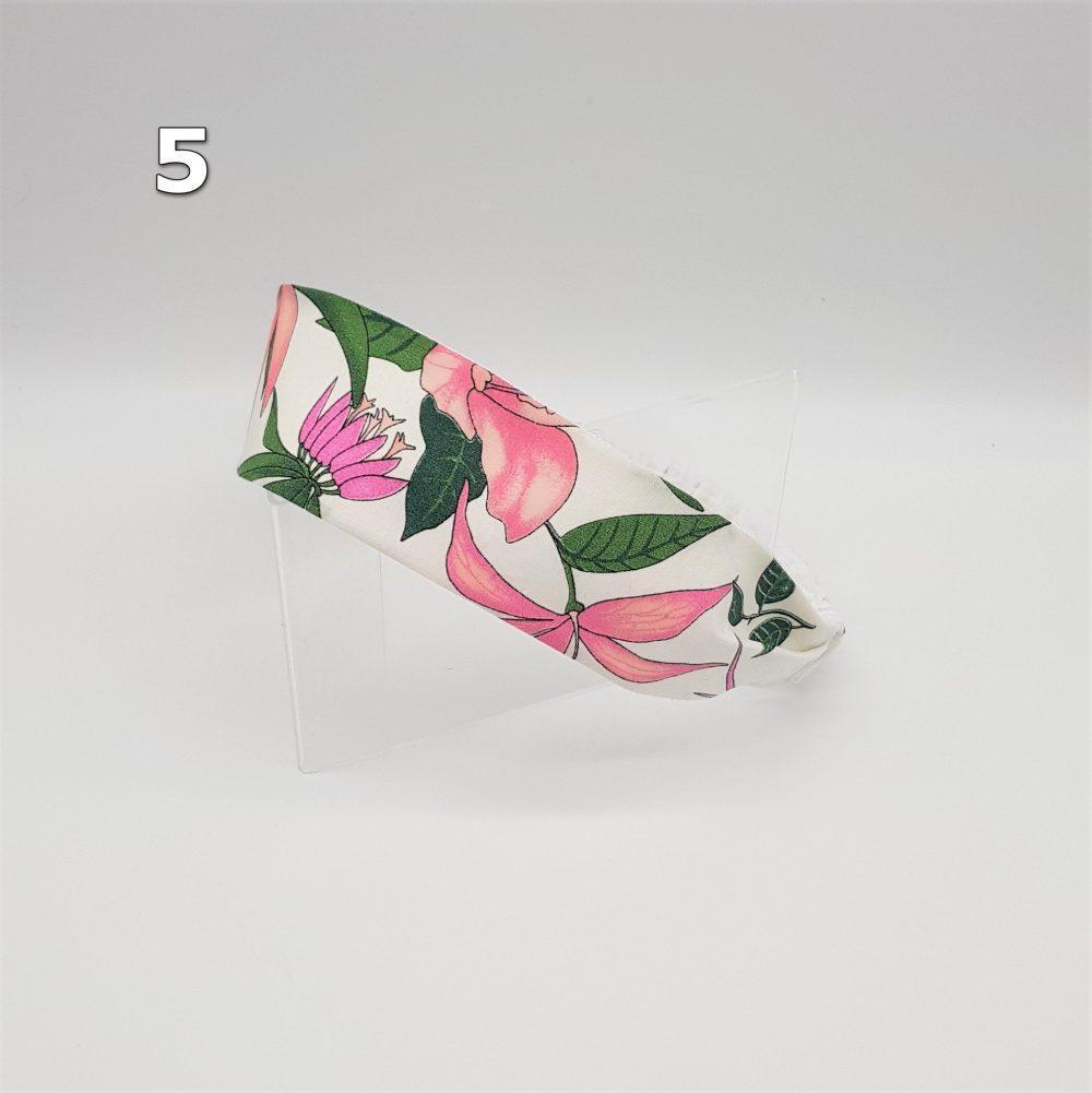 Haarband mit Gummi Blumen