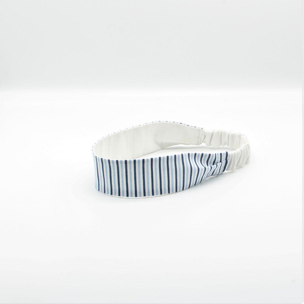 Haarband mit Gummi gestreift
