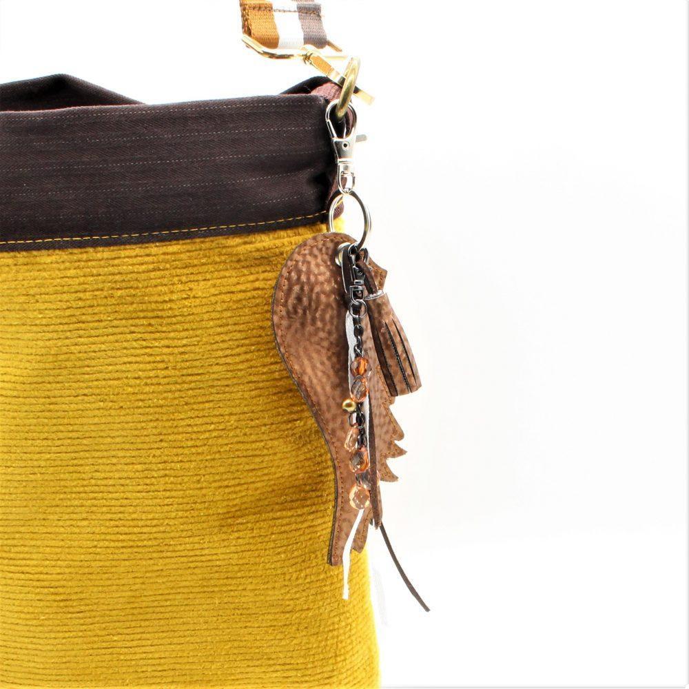 Engelsflügel als Taschen-Baumler