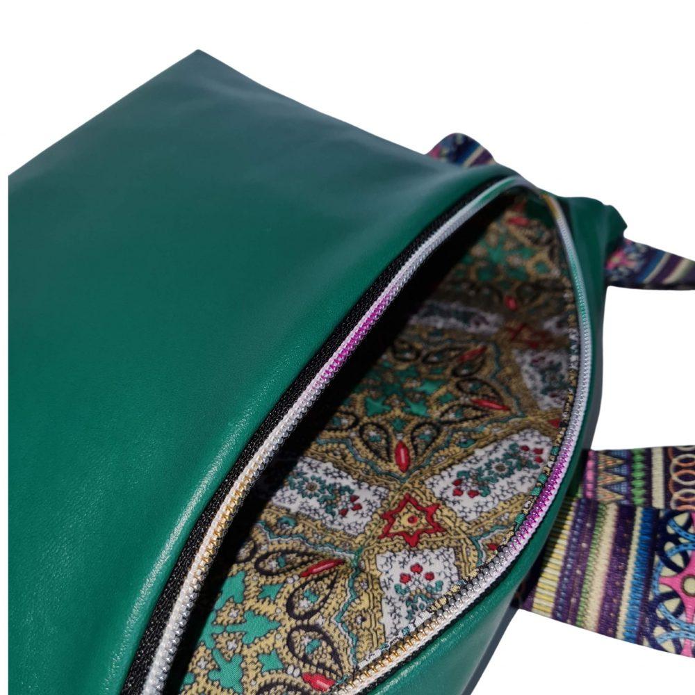 Hauptfach der trendigen Tasche
