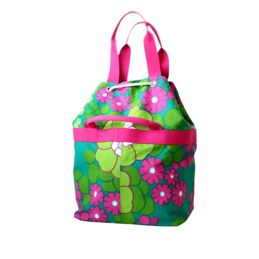 pinke Variante der Einkaufstasche