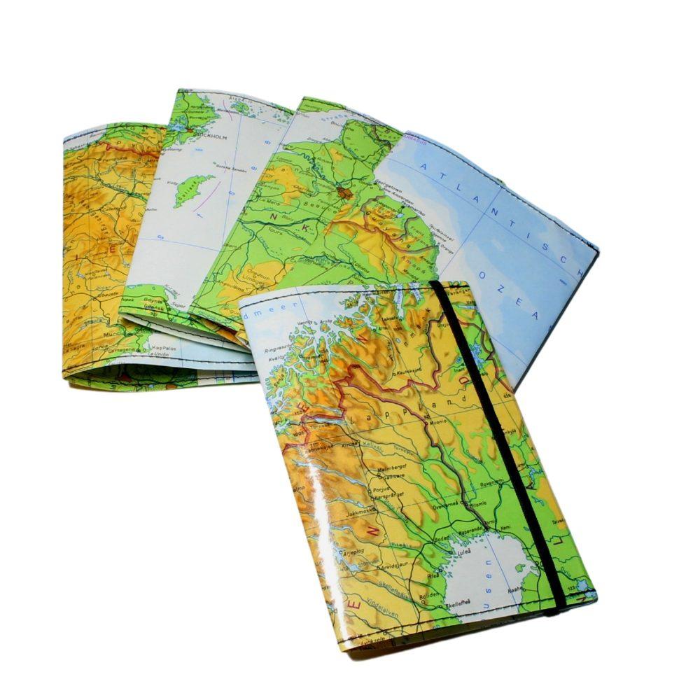 laminierte Weltkarten für deinen Reisepass