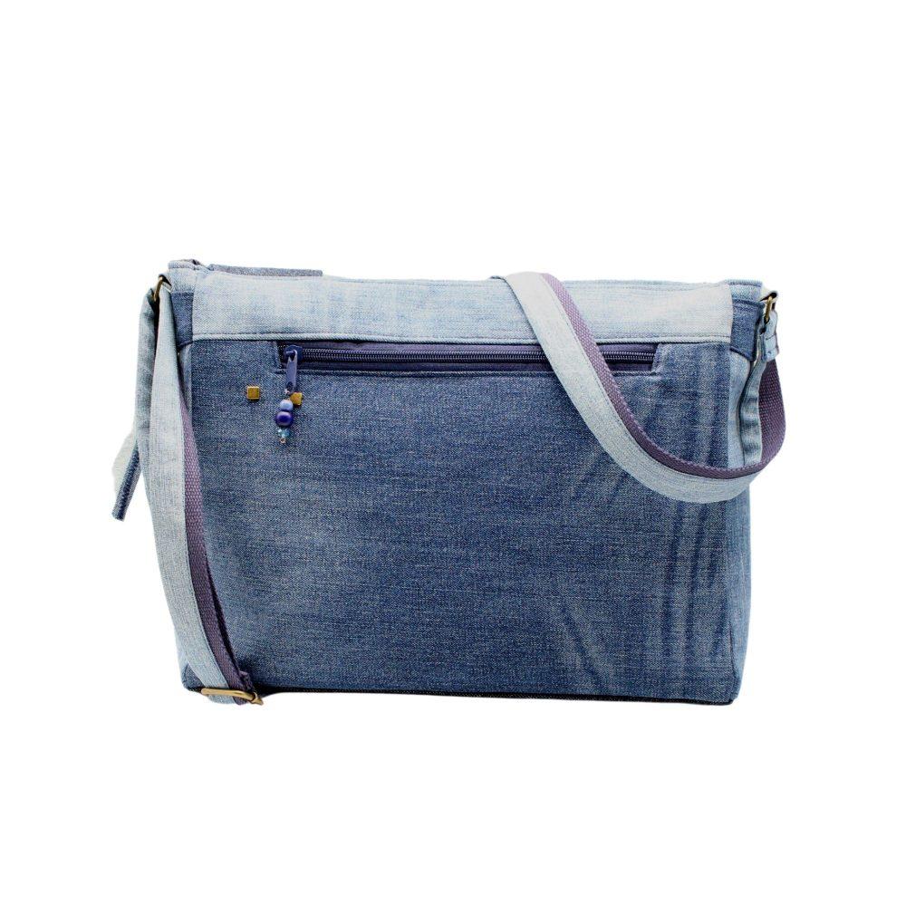 Rückseite der Tasche