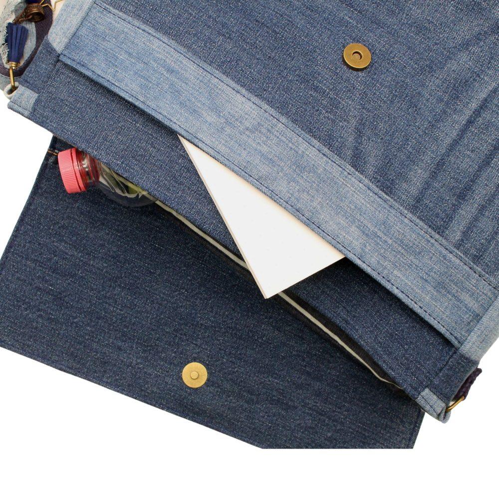 Nahansicht der Jeanstasche