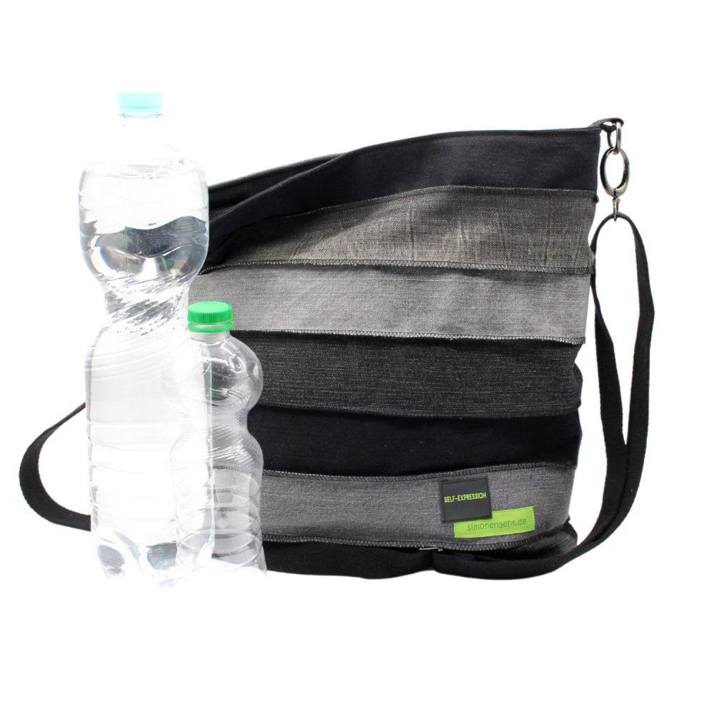 Größenvergleich der Tasche