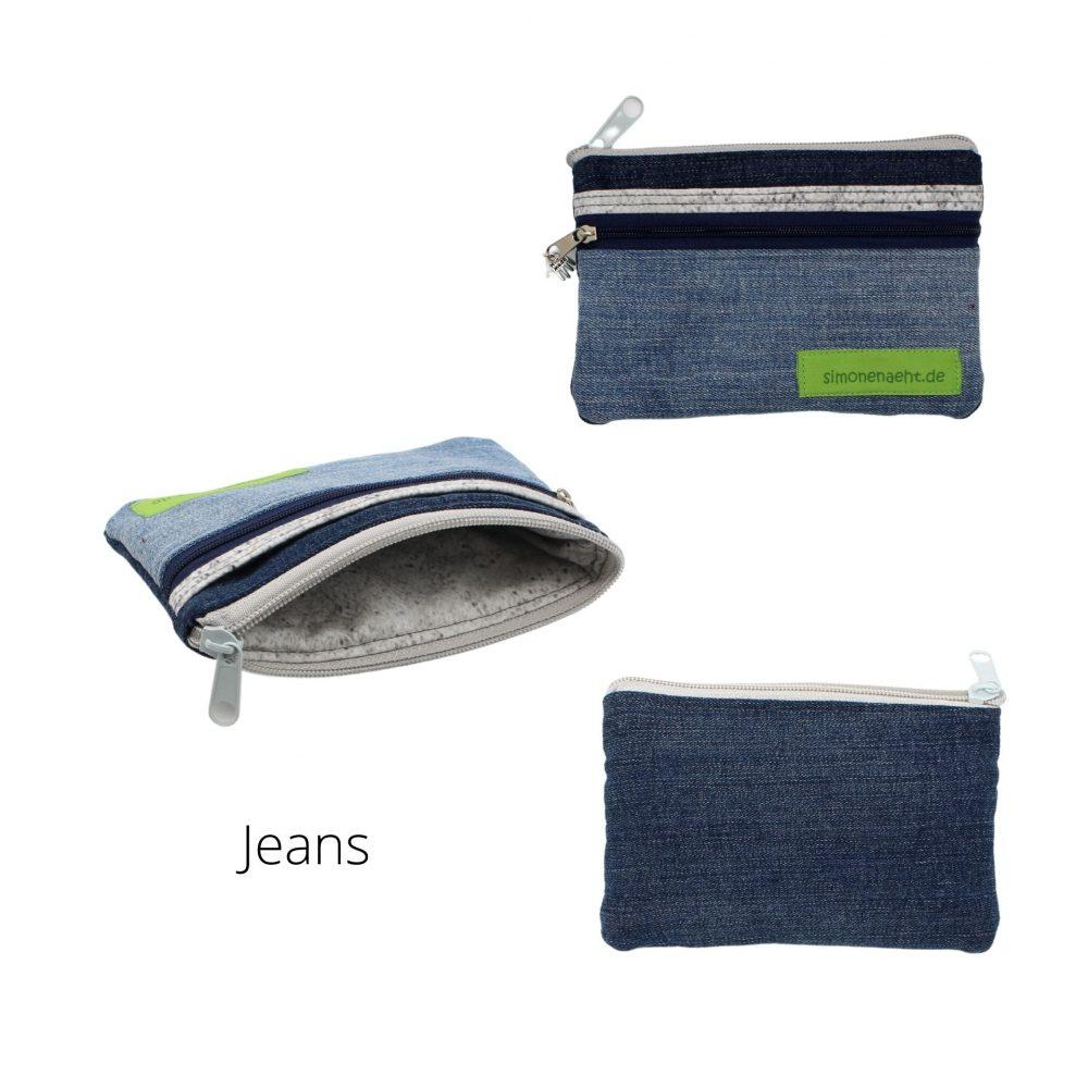 kleines Portemonnaie aus Jeans