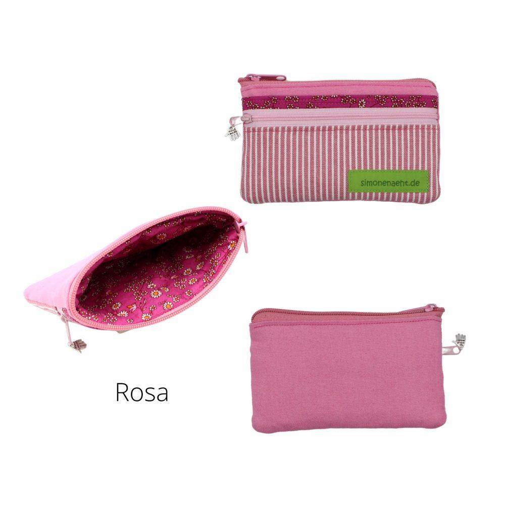 rosa Geldbörse