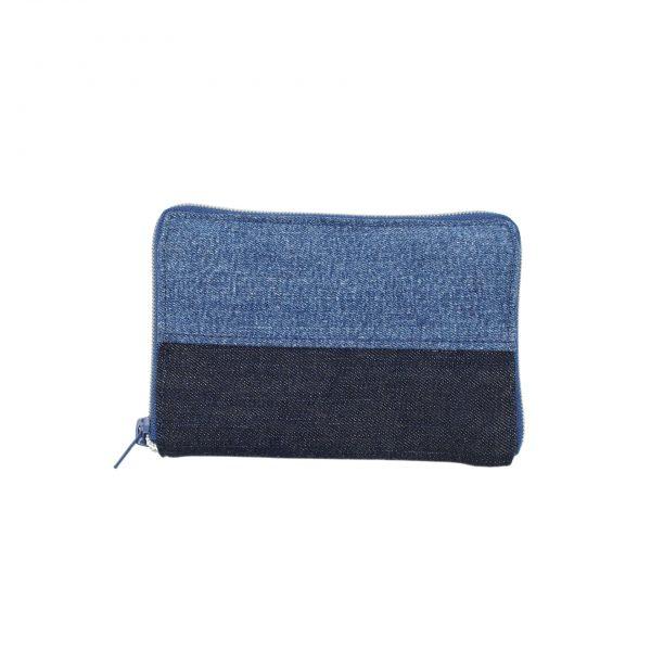 Portmonee im Jeans-Upcycling