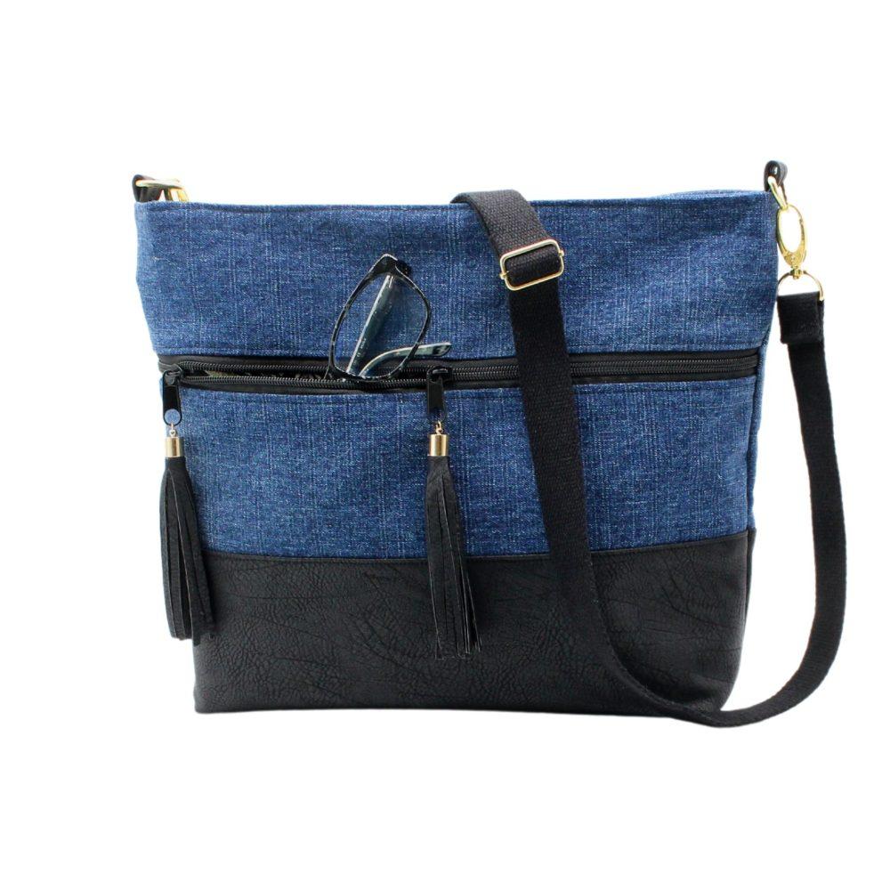 Vordere Ansicht der Tasche
