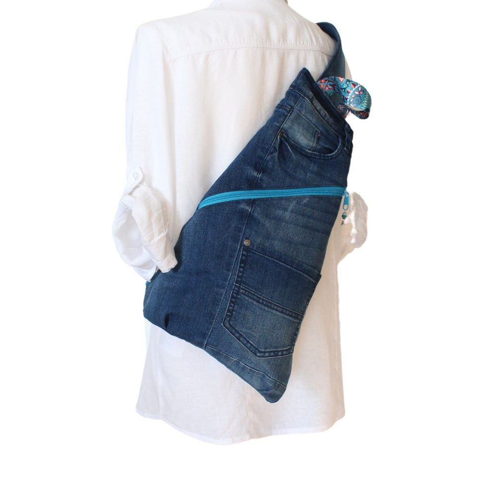 Cross-Bag im Upcycling