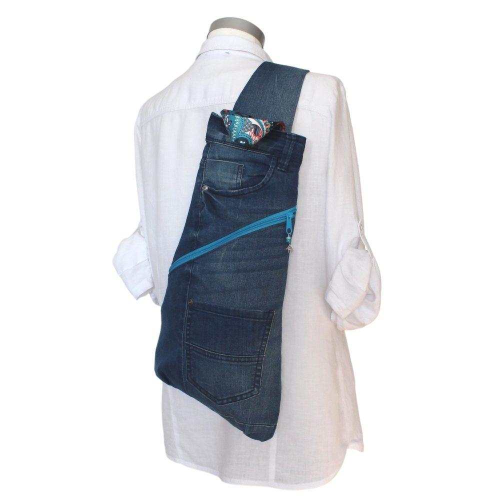 Cross-Bag aus Jeans