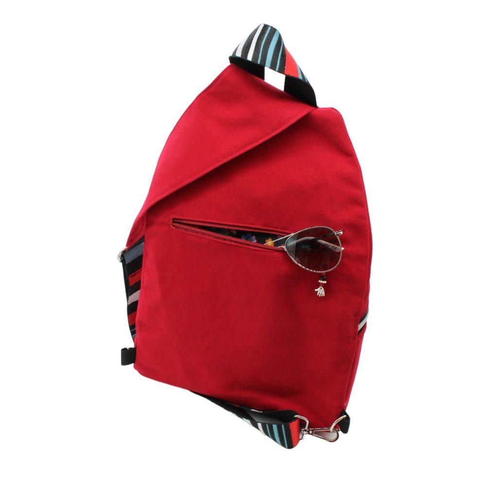 Rückansicht des Cross-Bags