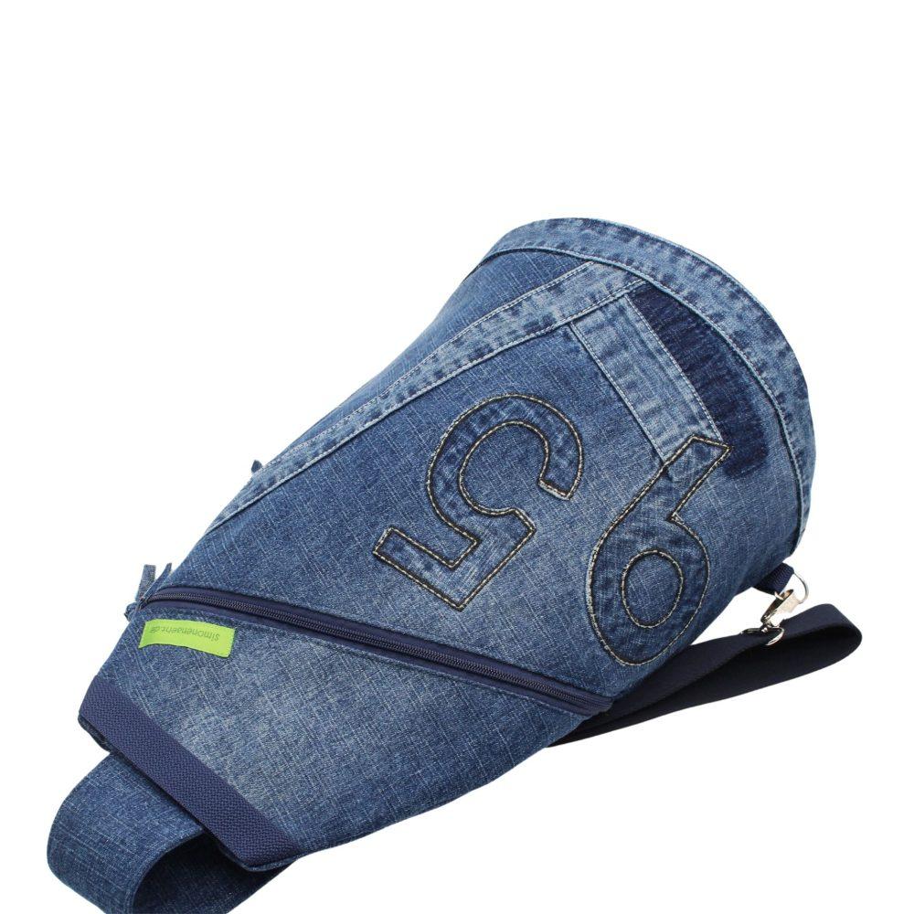 Jeansrucksack für Männer