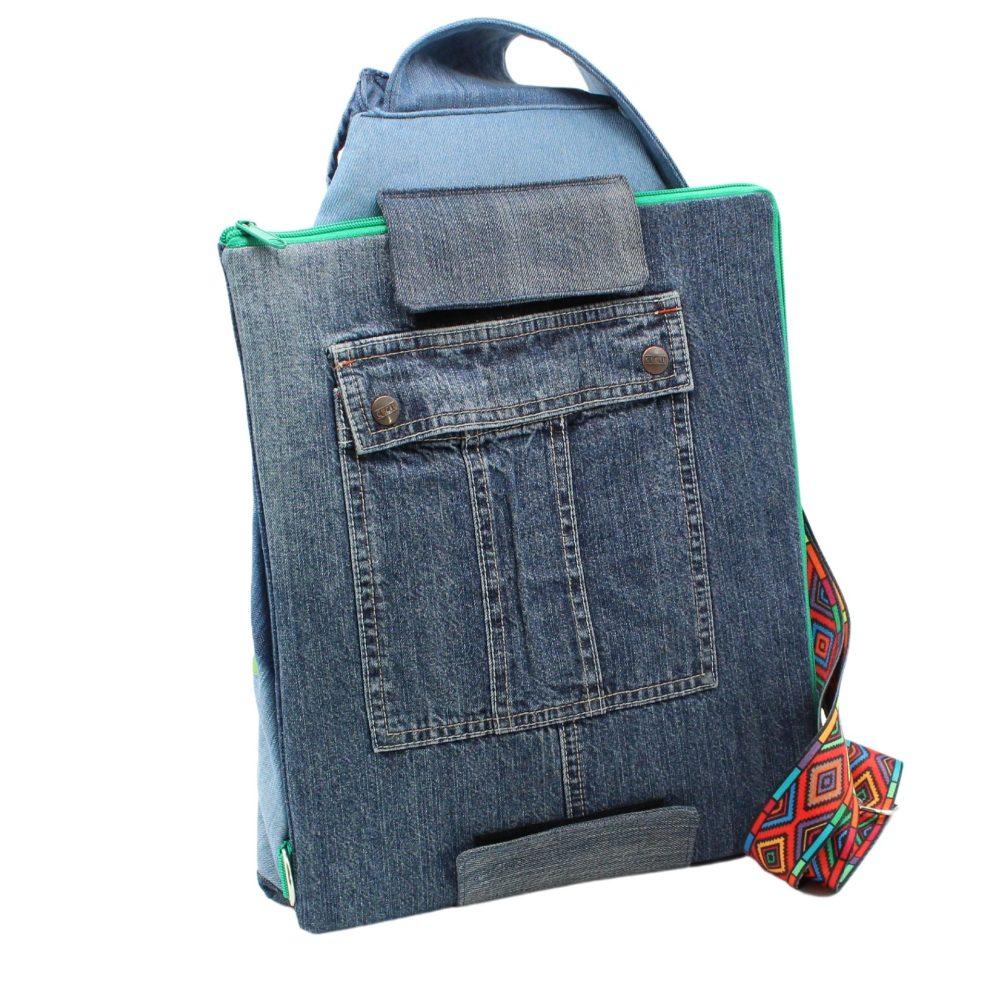 Rucksack mit Schreibmappe